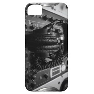 Dj Mixer and Headphones iPhone 5 Case