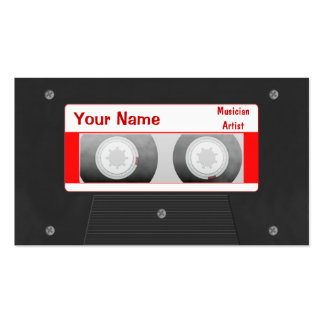 DJ Mixtape Business Card Template