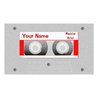 DJ Mixtape Business Card Templates