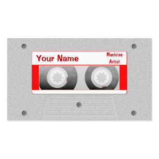 DJ Mixtape Double-Sided Standard Business Cards (Pack Of 100)