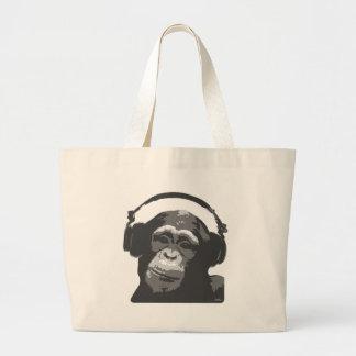 DJ MONKEY CANVAS BAG