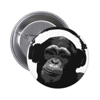 DJ MONKEY PIN
