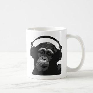 DJ MONKEY COFFEE MUG
