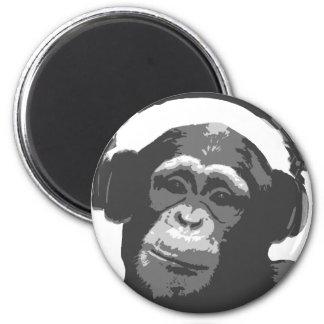 DJ MONKEY FRIDGE MAGNET