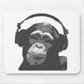 DJ MONKEY MOUSE PAD