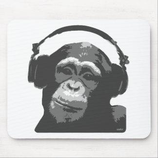 DJ MONKEY MOUSE PADS