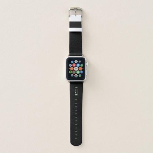 DJ Monogram Apple Watch Band