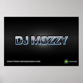 DJ Mozzy Carbon Weave Poster for FreeMusicExposure