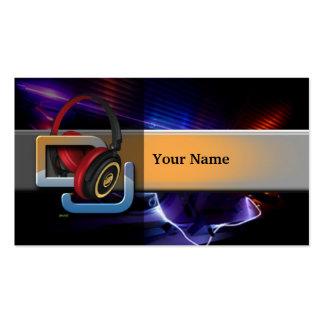 DJ Music Business Card