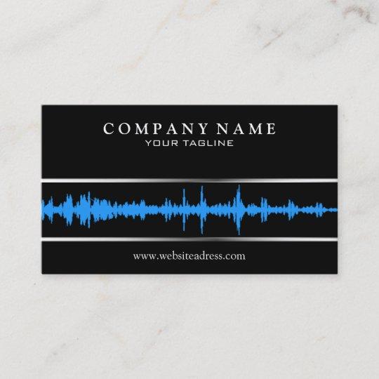 Djmusic business card template zazzle djmusic business card template accmission Images
