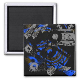 DJ Music Cassette Magnet