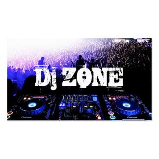 DJ Music Club Entertainment Business Card    
