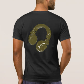 DJ music design T-shirts