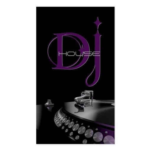 DJ, Music, Entertainment Business Card