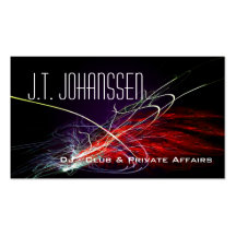 DJ Music Explosion Professional Business Cards Business Card Templates