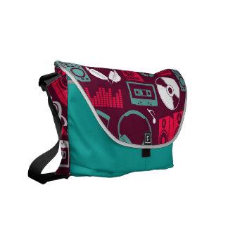 dj music messenger bag
