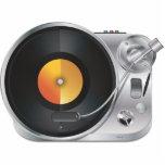 DJ Music Player Acrylic Cut Outs