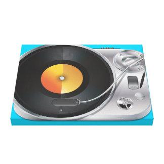 DJ Music Player Canvas Print