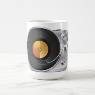 DJ Music Player Coffee Mug