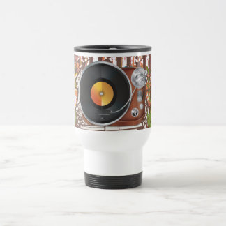 DJ Music Player Travel Mug