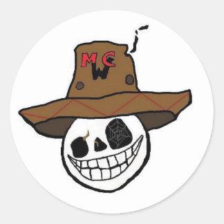 DJ MWC logo Sticker