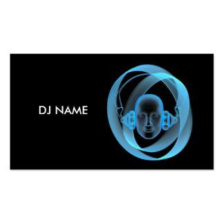 dj_name tarjetas de visita