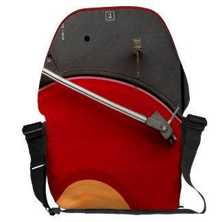 Dj Network vinyl console Courier Bag