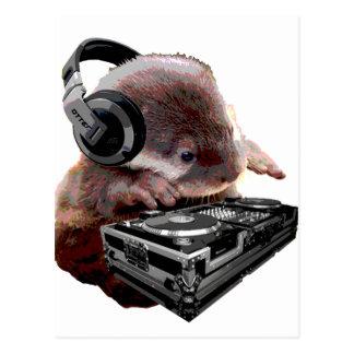 DJ ningunos nutria Tarjetas Postales
