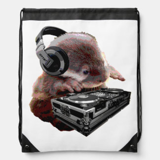 DJ None Otter Drawstring Bag