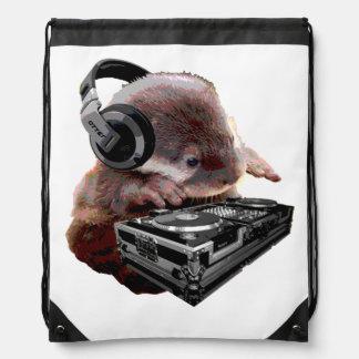 DJ None Otter Drawstring Bag Drawstring Bags