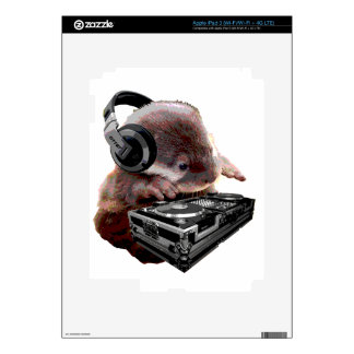 DJ None Otter iPad 3 Decals
