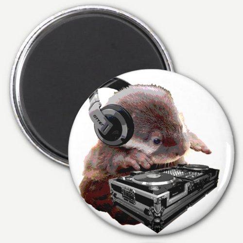 DJ None Otter Magnet