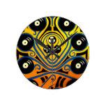 DJ Octopus in blue Clock