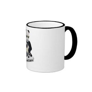 DJ Panda Bling Bling Coffee Mug