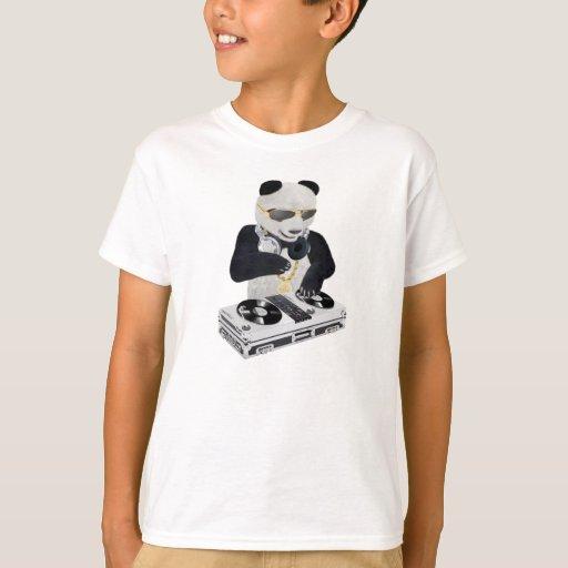 Zazzle DJ Panda Bling Bling T-Shirt