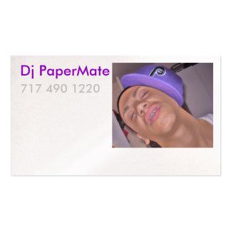 Dj PaperMate Profile Card