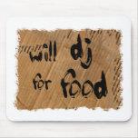 DJ para la comida Tapetes De Raton