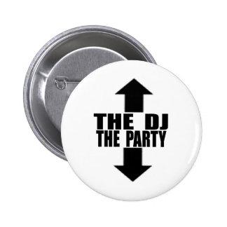 DJ-PARTY PIN