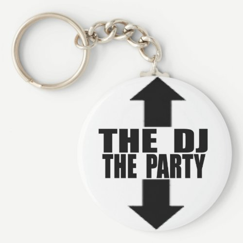 DJ-PARTY KEYCHAIN