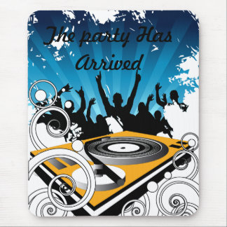 DJ party Mouse Pad