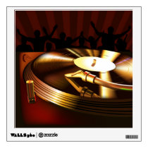DJ Party Wall Decal