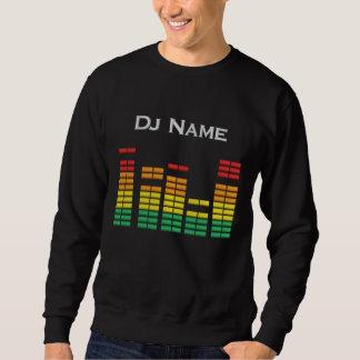 Dj Personal Equalizer Bar Embroidered Sweatshirt