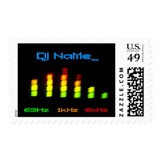 Dj Personal Equalizer Bar EQ - add your name Postage