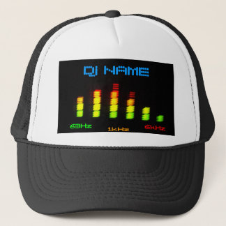 Dj Personal Equalizer Bar EQ - add your name Trucker Hat