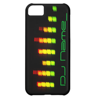 Dj Personal Equalizer Bar iPhone 5C Cases