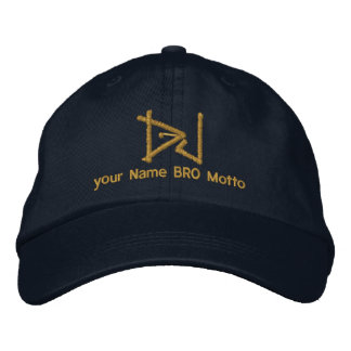 DJ Personalizable Cap Your Own Text Bro & Babe