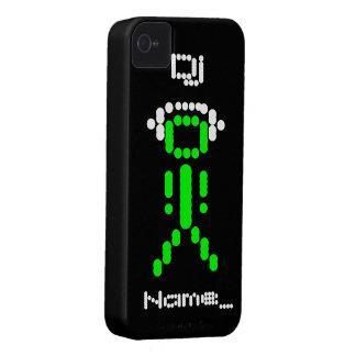 DJ personalizado iPhone 4 Protector