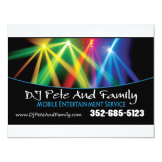 DJ Pete And Family Card