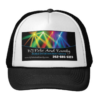 DJ Pete And Family Mesh Hat