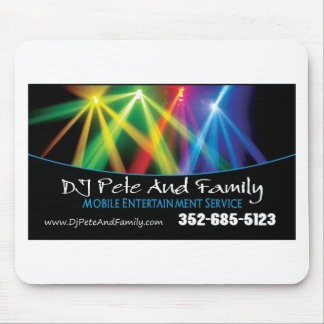 DJ Pete And Family Mouse Pad